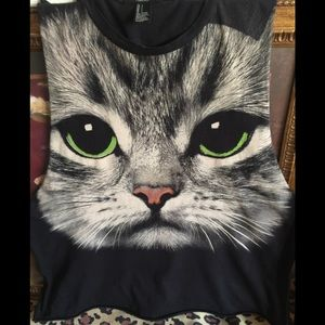 COPY - Forever 21 KITTY Tank Top